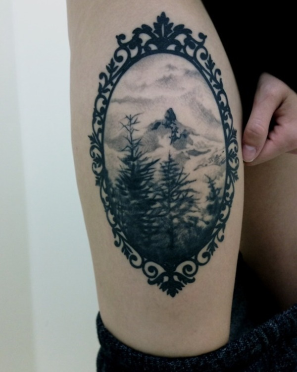 Nature Tattoos Designs and Ideas91