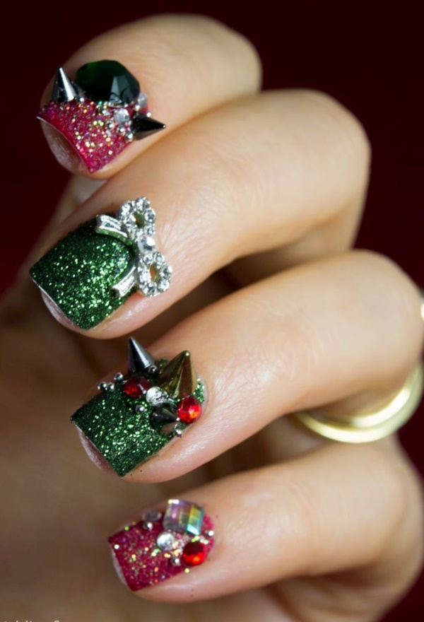 Seasonal Nail art designs and Ideas0011
