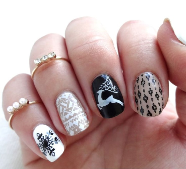 Seasonal Nail art designs and Ideas0071