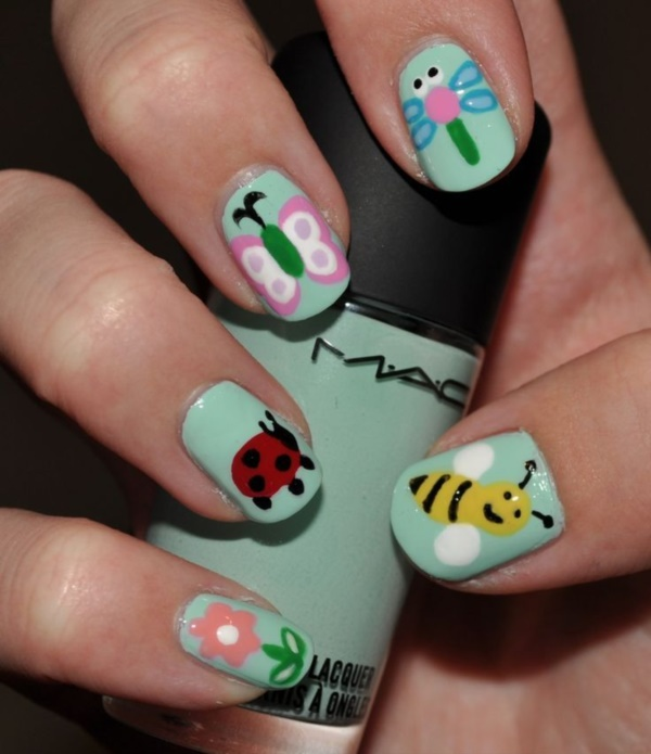 Seasonal Nail art designs and Ideas0131