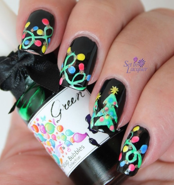 Seasonal Nail art designs and Ideas0141