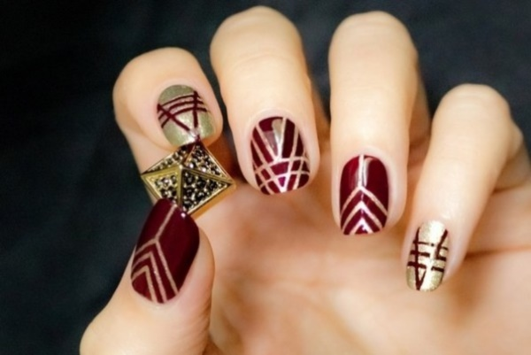 Seasonal Nail art designs and Ideas0391