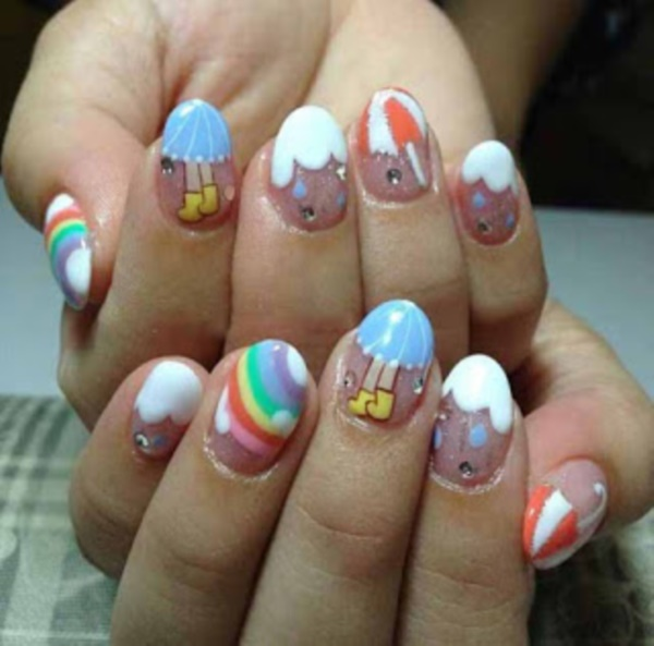 Seasonal Nail art designs and Ideas0421