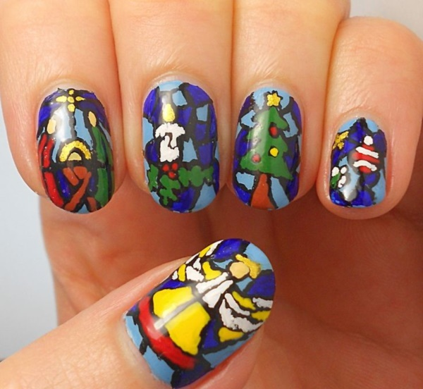 Seasonal Nail art designs and Ideas0611