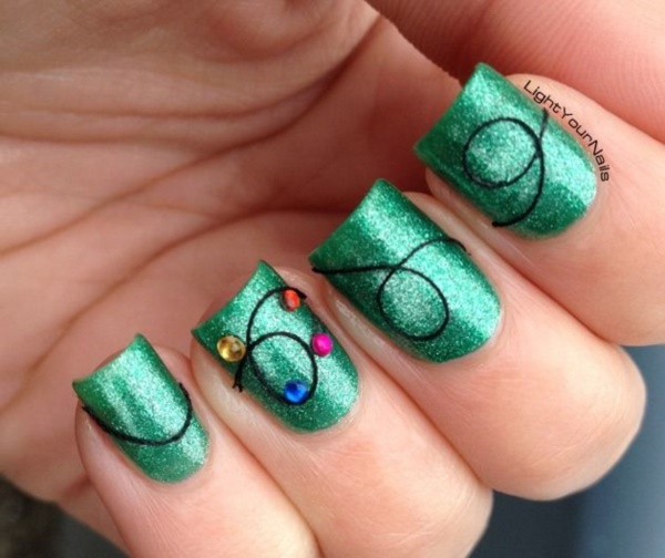 Seasonal Nail art designs and Ideas0631