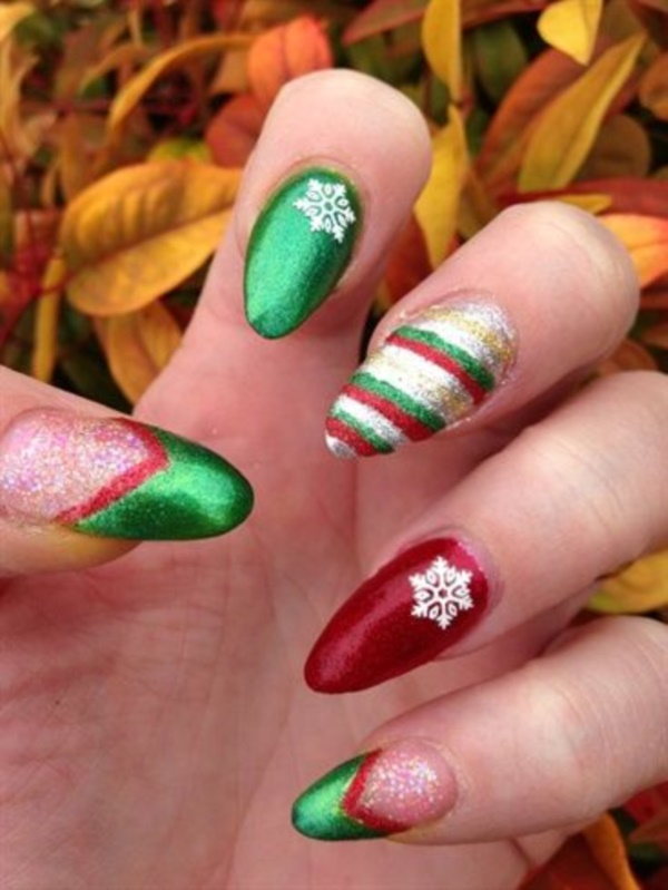 Seasonal Nail art designs and Ideas0641