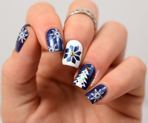 Seasonal Nail art designs and Ideas0681
