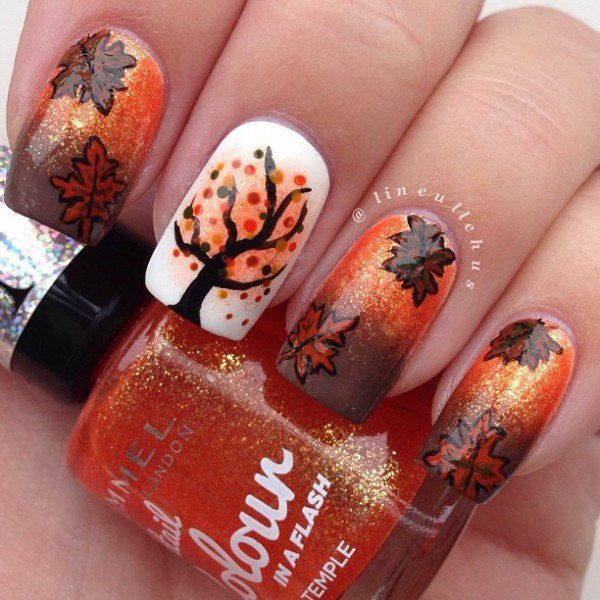 Seasonal Nail art designs and Ideas0891
