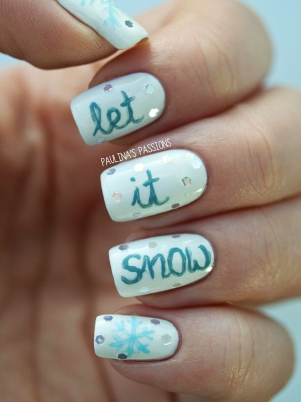 Seasonal Nail art designs and Ideas0931