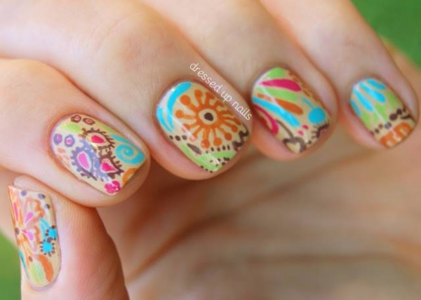 Seasonal Nail art designs and Ideas0991