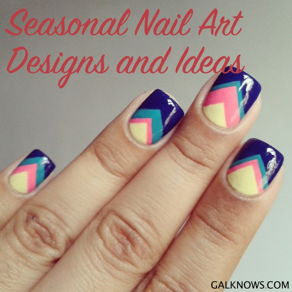 101 Seasonal Nail Art Designs And Ideas For 2019