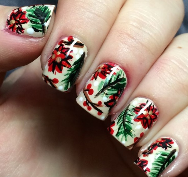 Seasonal Nail art designs and Ideas1021