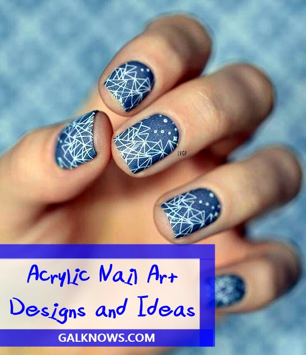 Acrylic Nail Art Designs and Ideas (1) - 101 Cool Acrylic Nail Art Designs And Ideas To Carry Your Attitude