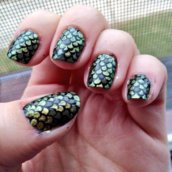 Acrylic Nail Art Designs and Ideas (13)