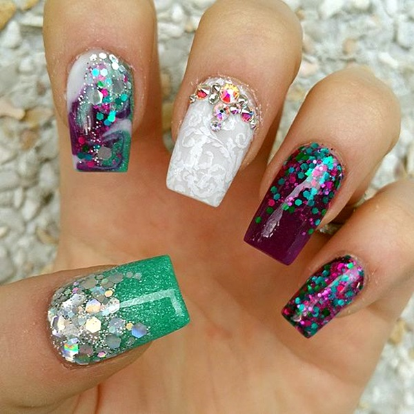 Acrylic Nail Art Designs and Ideas (15)