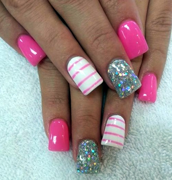 Acrylic Nail Art Designs and Ideas (26)