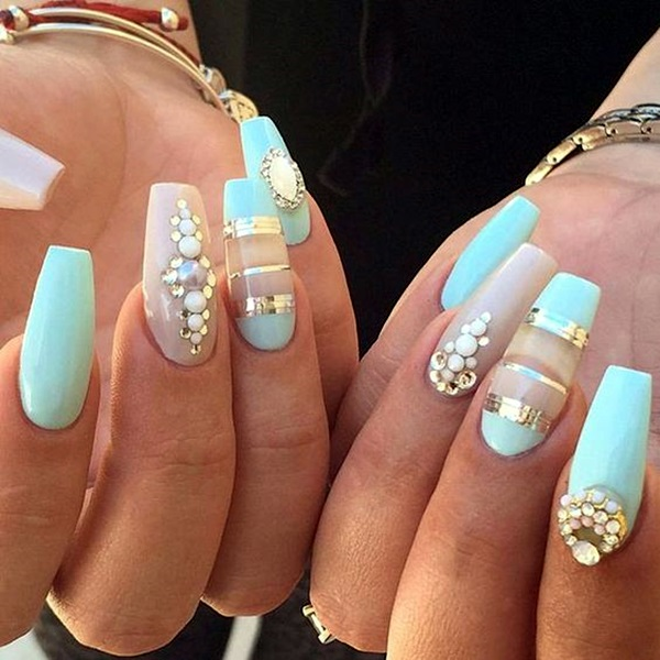 Acrylic Nail Art Designs and Ideas (29)