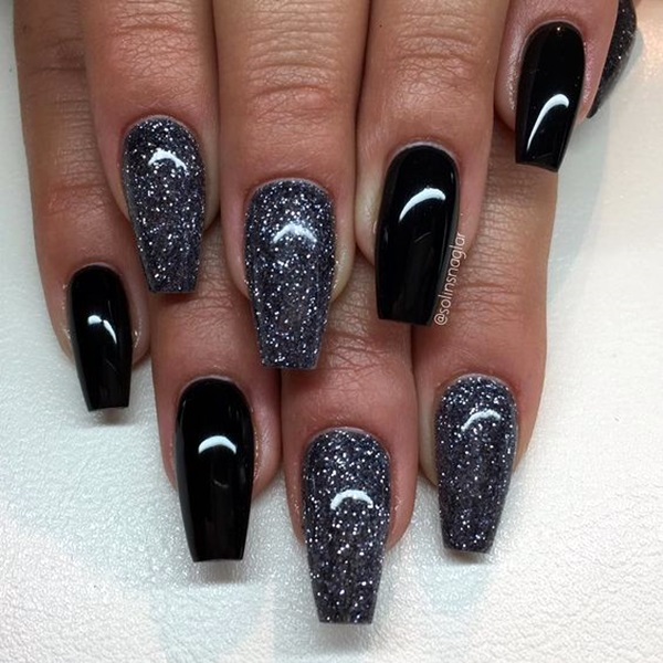 Simple Ring Finger Nail Designs