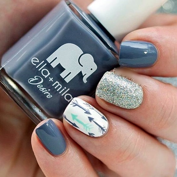 Acrylic Nail Art Designs and Ideas (3) - 101 Cool Acrylic Nail Art Designs And Ideas To Carry Your Attitude