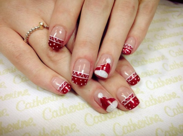 Christmas Nail Art Designs: 85 Cute Christmas Nail Art Designs And Ideas To Try In 2016