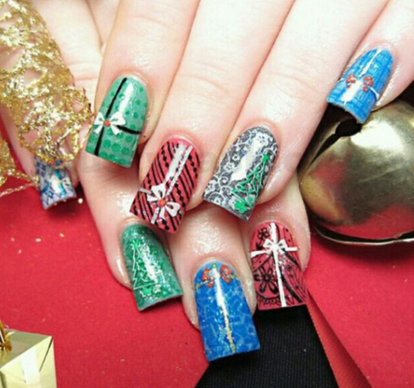 Cute Christmas Nail Art Designs and Ideas0041
