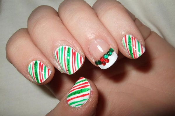 Cute Christmas Nail Art Designs and Ideas0091