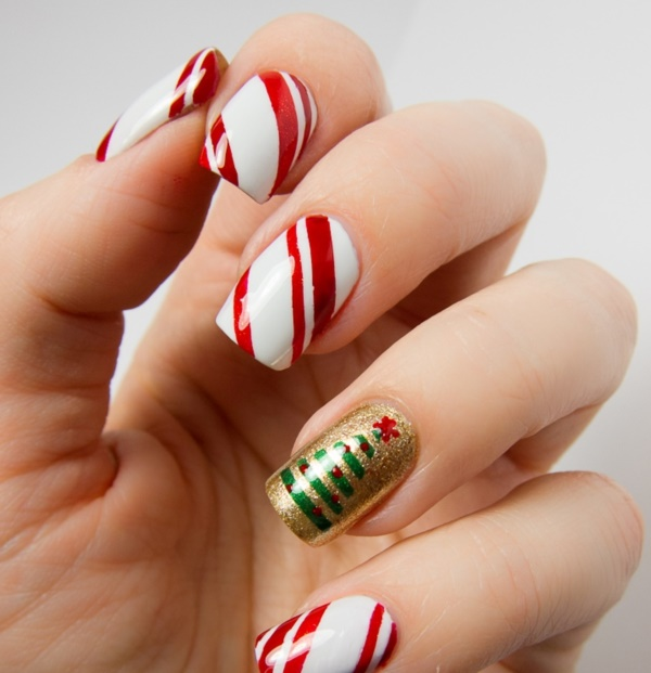 Cute Christmas Nail Art Designs and Ideas0101