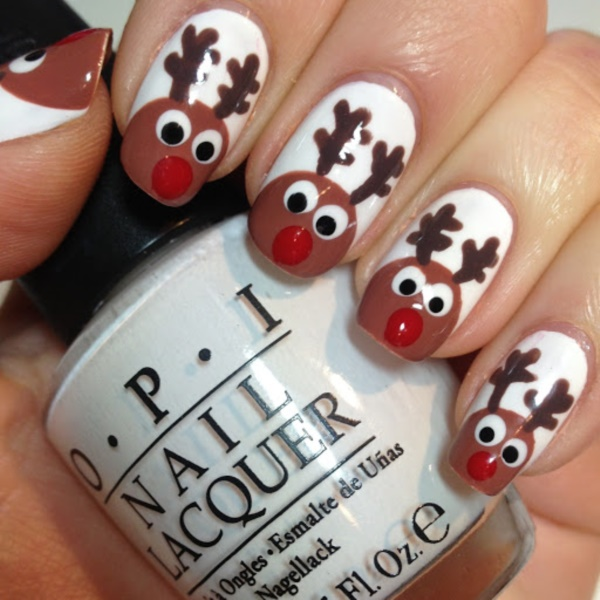 Cute Christmas Nail Art Designs and Ideas0121