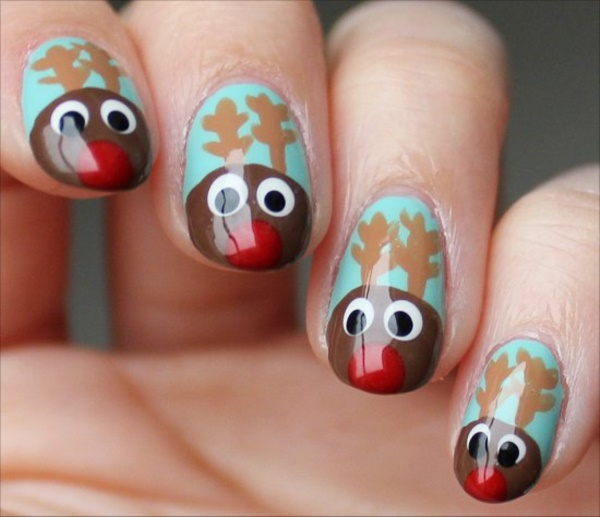 85 cute christmas nail art designs and ideas to try in 2016 cute christmas nail art designs and ideas0131 prinsesfo Choice Image