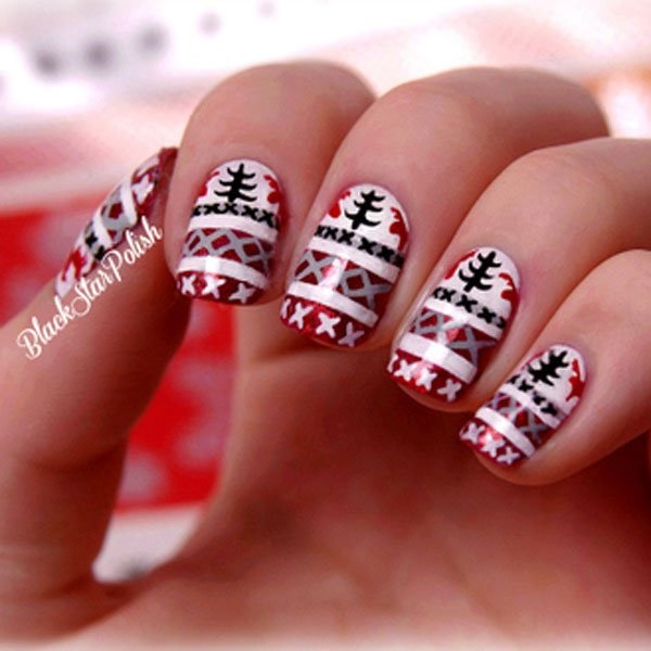 Cute Christmas Nail Art Designs And Ideas0161
