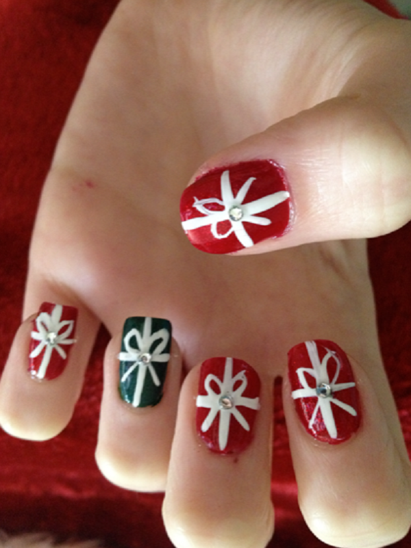 Cute Christmas Nail Art Designs and Ideas0201