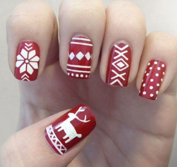 Cute Christmas Nail Art Designs and Ideas0251