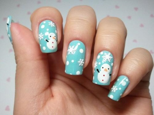 Cute Christmas Nail Art Designs and Ideas0311