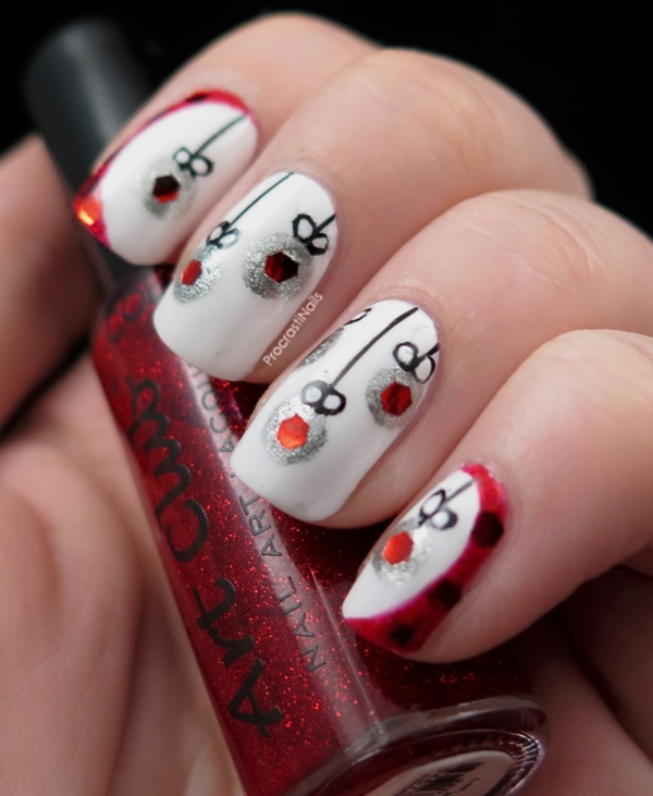 Cute Christmas Nail Art Designs and Ideas0401