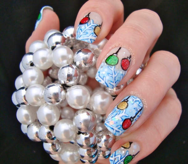 Cute Christmas Nail Art Designs and Ideas0411