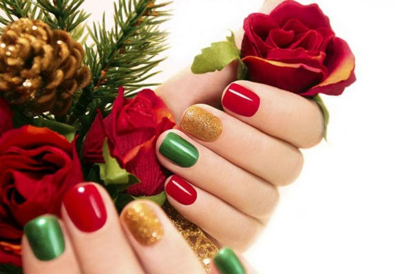 Cute Christmas Nail Art Designs and Ideas0421