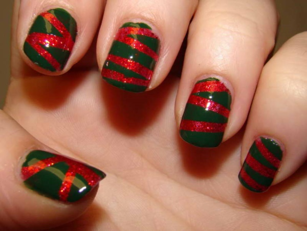 Cute Christmas Nail Art Designs and Ideas0431