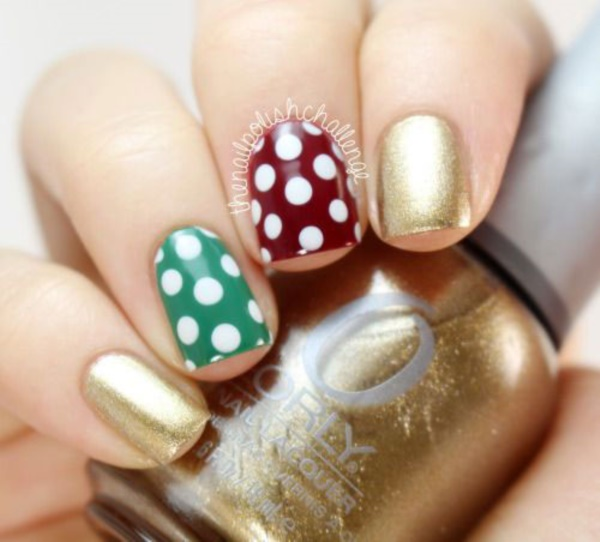 Cute Christmas Nail Art Designs and Ideas0461