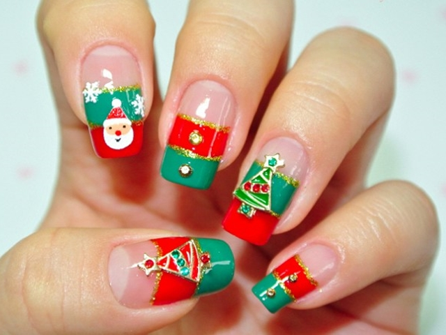 - 85 Cute Christmas Nail Art Designs And Ideas To Try In 2016