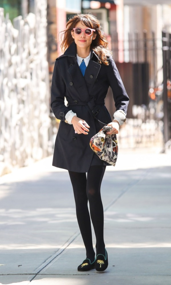 50897933 Actress and model Alexa Chung walks to the Smile Cafe in New York City, NY on September 25th, 2012. FameFlynet, Inc - Beverly Hills, CA, USA - +1 (818) 307-4813