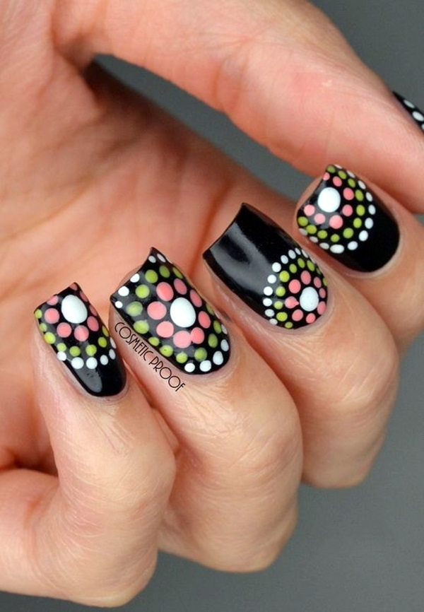 Cute Flower Nail Designs (23)