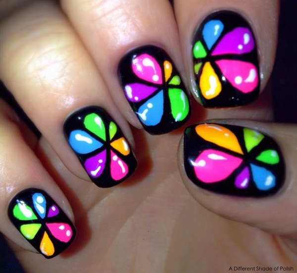Cute Flower Nail Designs (3)