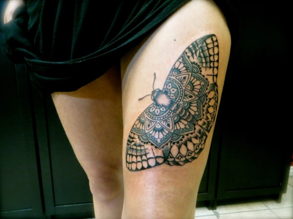 Girl Leg Tattoos Designs0031
