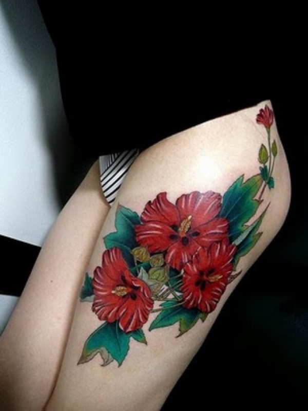 Girl Leg Tattoos Designs0061