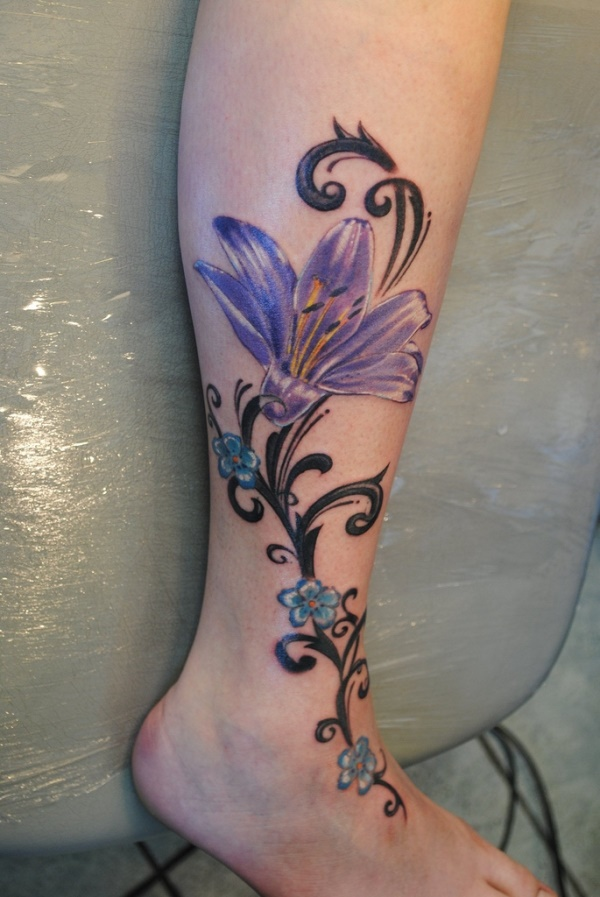 Girl Leg Tattoos Designs0301