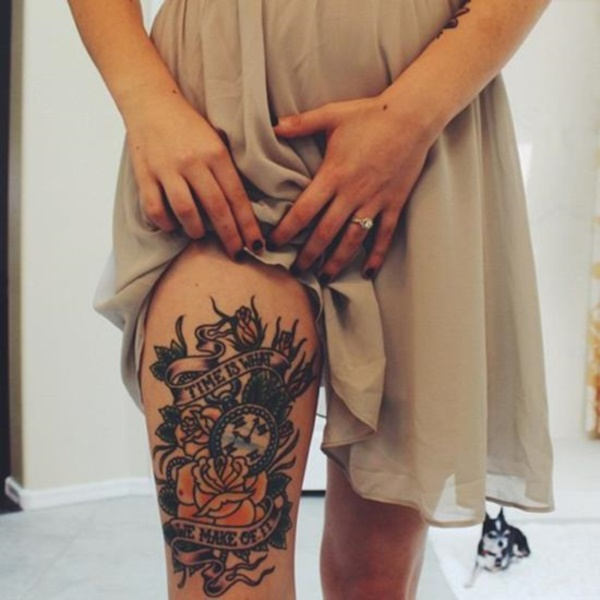 Tattoo Ideas On Leg: 101 So Flirty Girl Leg Tattoos Designs To Increase The Heat