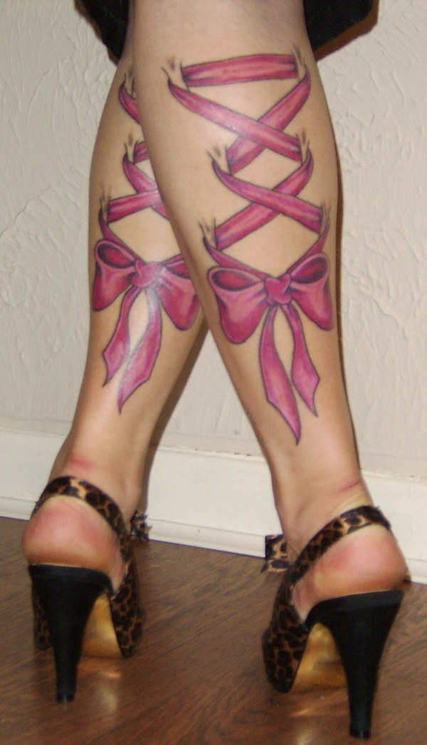 Girl Leg Tattoos Designs0341