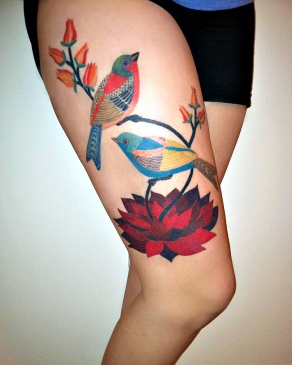 Girl Leg Tattoos Designs0501