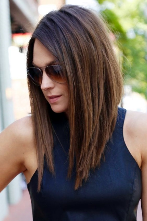 Shoulder length hair for women