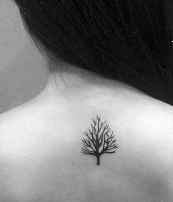 101 small tree tattoo designs that re equally meaningful cute rh galknows com Pine Tree Tattoo Simple Small Tree Tattoos